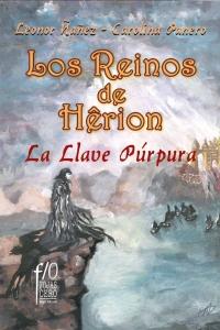 Portada de LA LLAVE PÚRPURA (LOS REINOS DE HÈRION # 1