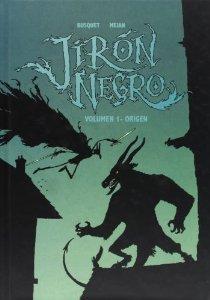 Portada de JIRÓN NEGRO. ORIGEN (JIRÓN NEGRO#1)