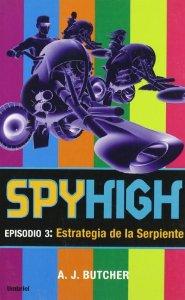 Portada de SPYHIGH 3: ESTRATEGIA DE LA SERPIENTE