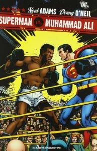 Portada de SUPERMAN VS MUHAMMAD ALI