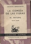 Portada de LA COMIDA DE LAS FIERAS. AL NATURAL
