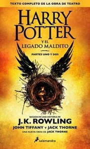 Portada de HARRY POTTER Y EL LEGADO MALDITO (HARRY POTTER #8)