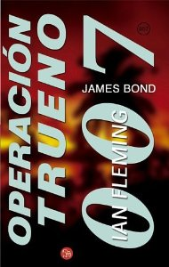 Portada de OPERACION TRUENO. JAMES BOND 007