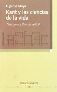 Portada de KANT Y LAS CIENCIAS DE LA VIDA