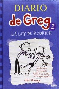 Portada de DIARIO DE GREG 2. LA LEY DE RODRICK