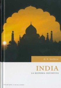 Portada de INDIA. LA HISTORIA DEFINITIVA