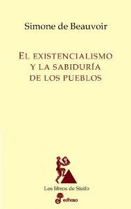 Portada de EL EXISTENCIALISMO Y LA SABIDURÍA DE LOS PUEBLOS