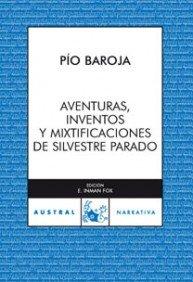 Portada de AVENTURAS, INVENTOS Y MIXTIFICACIONES DE SILVESTRE PARADOX