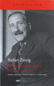 EL MUNDO DE AYER: MEMORIAS DE UN EUROPEO