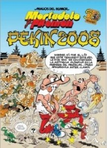 Portada de PEKÍN 2008 (MAGOS DEL HUMOR #123)