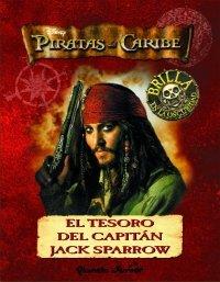 Portada de PIRATAS DEL CARIBE. EL TESORO DEL CAPITÁN JACK SPARROW