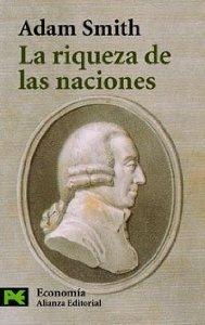 Portada de LA RIQUEZA DE LAS NACIONES