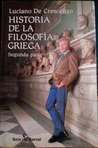 Portada de HISTORIA DE LA FILOSOFÍA GRIEGA II. DE SÓCRATES EN ADELANTE.