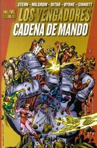 Portada de LOS VENGADORES. CADENA DE MANDO