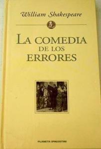 Portada de LA COMEDIA DE LAS EQUIVOCACIONES (LA COMEDIA DE LOS ERRORES)