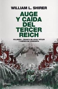 Portada de AUGE Y CAÍDA DEL TERCER REICH, VOLUMEN I