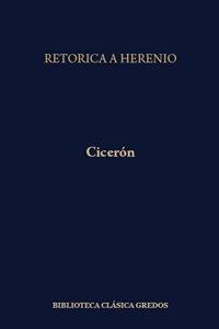Portada de RETÓRICA A HERENIO