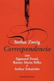 Portada de CORRESPONDENCIA CON SIGMUND FREUD, RAINER MARIA RILKE Y ARTHUR SCHNITZLER