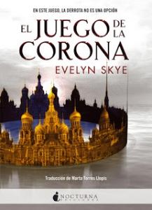 Portada de EL JUEGO DE LA CORONA (THE CROWN'S GAME #1)