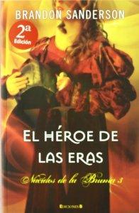Portada de EL HÉROE DE LAS ERAS (NACIDOS DE LA BRUMA #3)