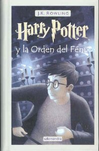 Portada de HARRY POTTER Y LA ORDEN DEL FÉNIX (HARRY POTTER #5)