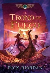 Portada de EL TRONO DE FUEGO (CRONICAS DE KANE #2)