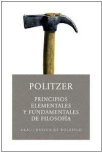 Portada de PRINCIPIOS ELEMENTALES Y FUNDAMENTALES DE FILOSOFÍA