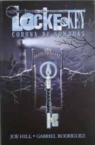 Portada de LOCKE AND KEY: CORONA DE SOMBRAS (LOCKE AND KEY#3)
