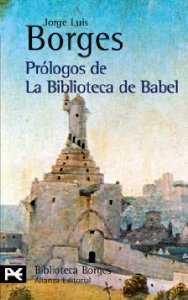 Portada de PRÓLOGOS DE LA BIBLIOTECA DE BABEL