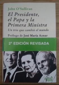 Portada de EL PRESIDENTE, EL PAPA Y LA PRIMERA MINISTRA
