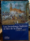 Portada de LAS INVASIONES INGLESAS AL RIO DE LA PLATA (1806-1807): RECONQUISTA DE BUENOS AIRES