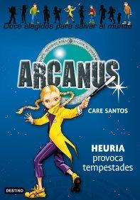 Portada de HEURIA PROVOCA TEMPESTADES (ARCANUS #4)