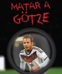 Portada de MATAR A GÖTZE