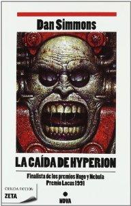 Portada de LA CAÍDA DE HYPERION (LOS CANTOS DE HYPERION #2)