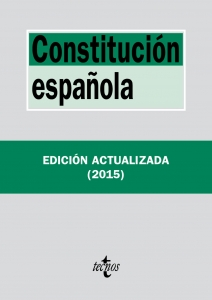 Portada de CONSTITUCIÓN ESPAÑOLA