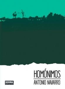 Portada de HOMÓNIMOS