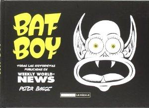 Portada de BAT BOY: TODAS LAS HISTORIETAS PUBLICADAS EN WEEKLY WORLD NEWS