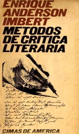 Portada de MÉTODOS DE CRÍTICA LITERARIA