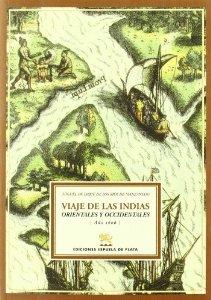 Portada de VIAJE DE LAS INDIAS ORIENTALES Y OCCIDENTALES (AÑO 1606)