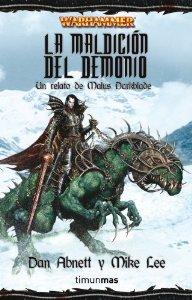 Portada de LA MALDICION DEL DEMONIO (MALUS DARKBLADE #1)