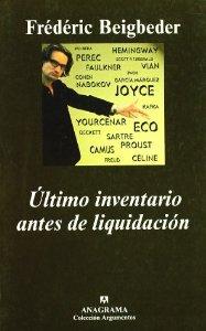 ÚLTIMO INVENTARIO ANTES DE LIQUIDACIÓN