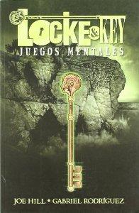 Portada de LOCKE AND KEY: JUEGOS MENTALES (LOCKE AND KEY#2)