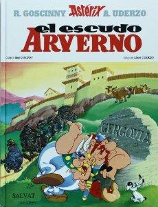 Portada de EL ESCUDO ARVERNO (ASTÉRIX #11)
