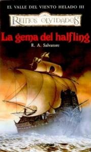 Portada de LA GEMA DEL HALFLING (EL VALLE DEL VIENTO HELADO #3)