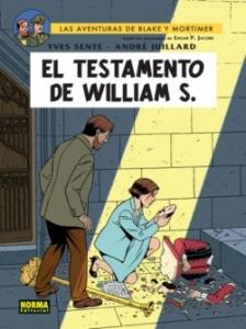 Portada de EL TESTAMENTO DE WILLIAM S. (LAS AVENTURAS DE BLAKE Y MORTIMER#24)