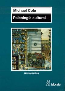 Portada de PSICOLOGÍA CULTURAL