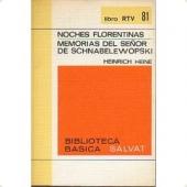 Portada de NOCHES FLORENTINAS/ MEMORIAS DEL SEÑOR DE SCHNABELEWOPSKI