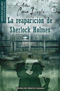 Portada de LA REAPARICIÓN DE SHERLOCK HOLMES