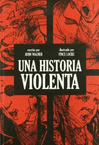 Portada de UNA HISTORIA VIOLENTA