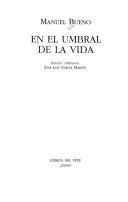 Portada de EN EL UMBRAL DE LA VIDA
